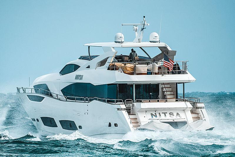 Nitsa yacht by Sunseeker in Fort Lauderdale