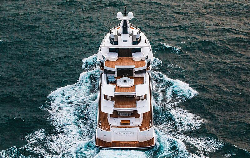 Artefact yacht by Nobiskrug