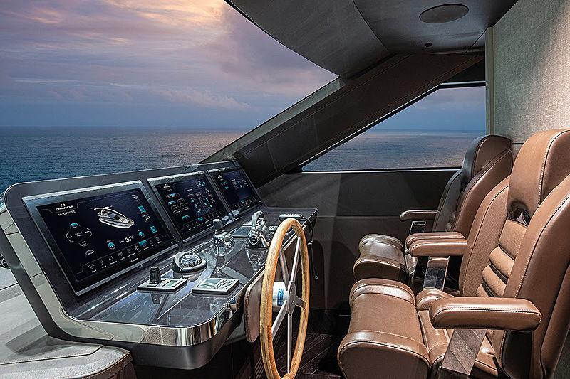 Cranchi Settantotto 78/01 yacht wheelhouse