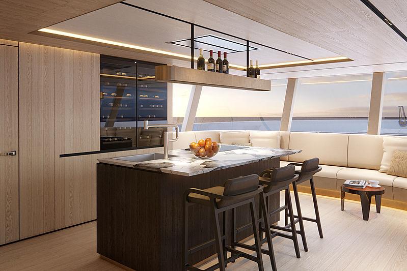 Tecnomar 118 Domus interior design