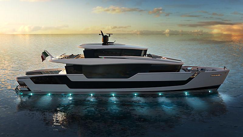Tecnomar 118 Domus exterior design