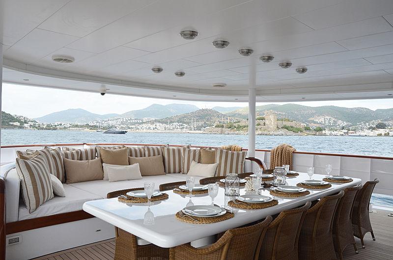 Olde Salt yacht aft deck