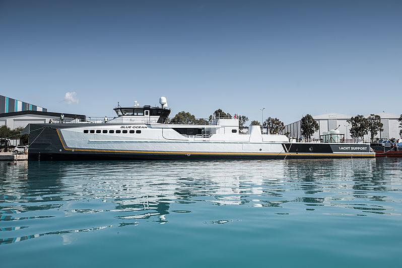 Blue Ocean yacht launch at Damen