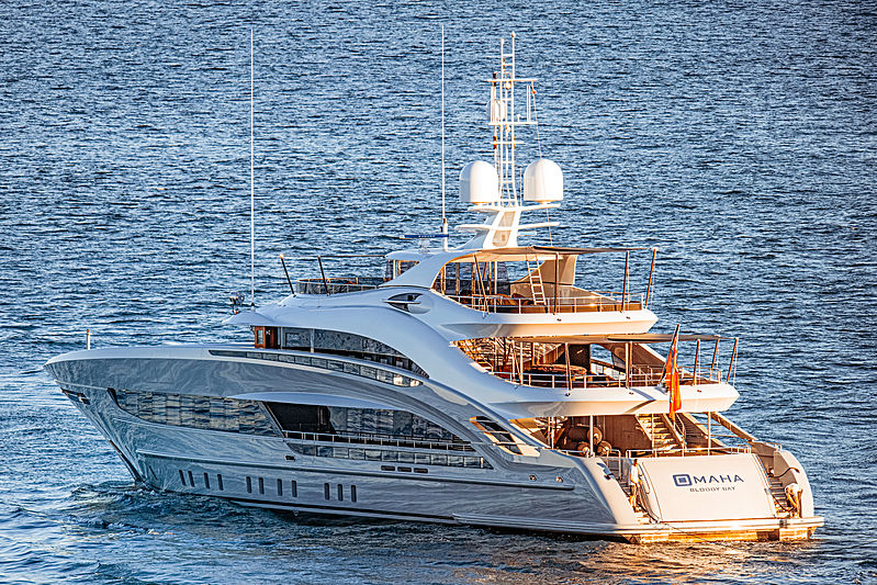 Omaha yacht by Heesen Yachts in Fort Lauderdale