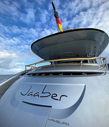Jaaber yacht name plate