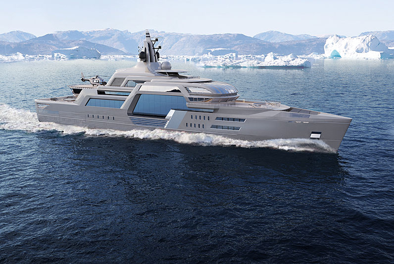 Yacht Project Stormbreaker by Theodoros Fotiadis