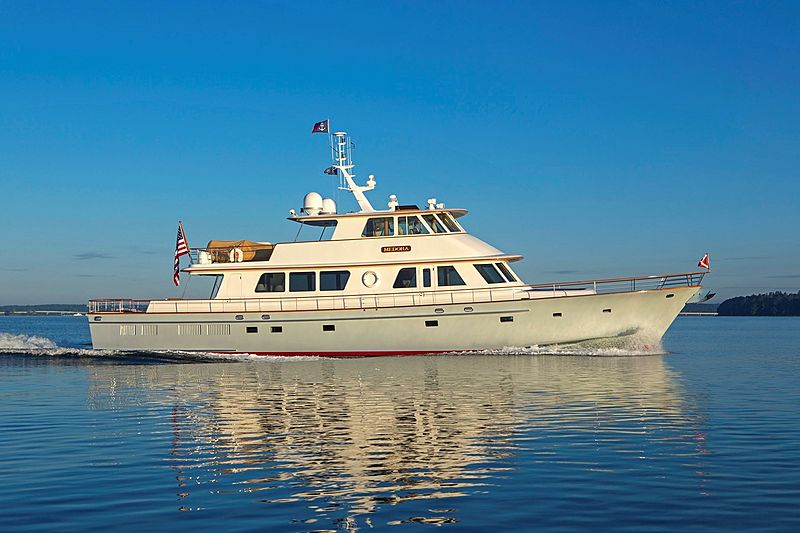 MEDORA yacht New England Boatworks