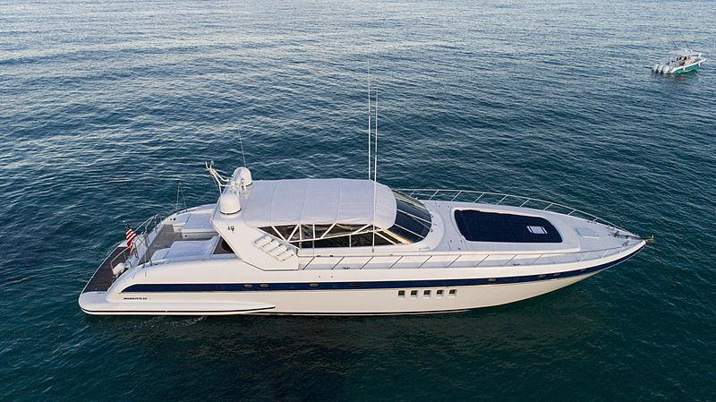 Hakuna Matata II yacht exterior