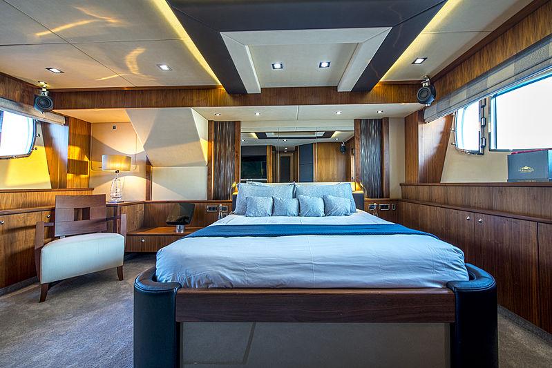 Alfie Buoy yacht stateroom