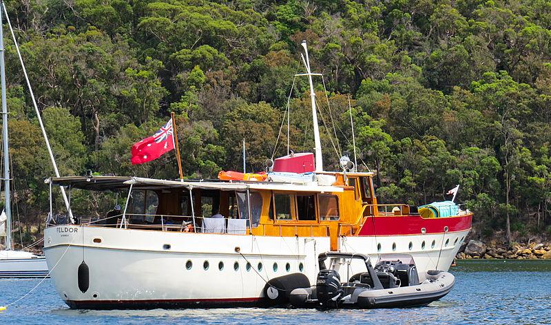 Feldor yacht in Sydney, Australia