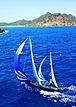 Axia yacht sailing