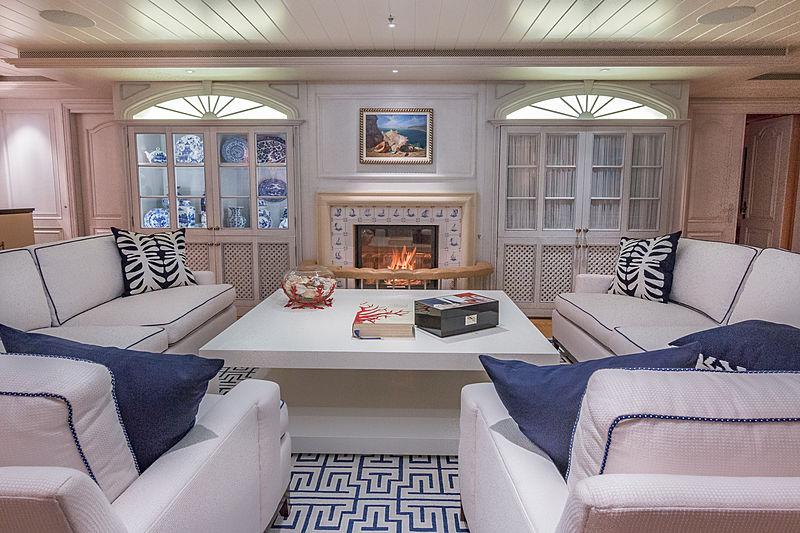 Bella Vita yacht interior