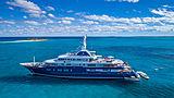 Bella Vita yacht anchored