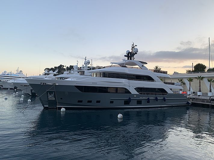 Astrum yacht docked in Monaco