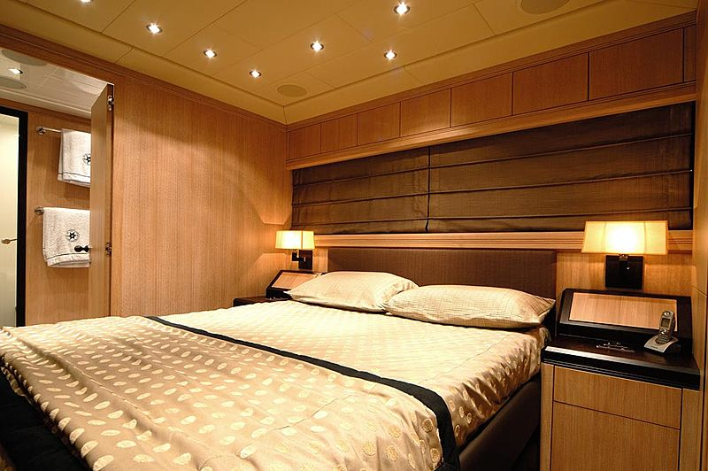 Ares yacht stateroom
