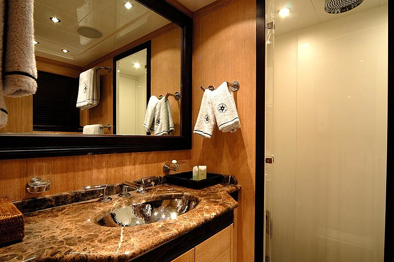 Ares yacht bathroom