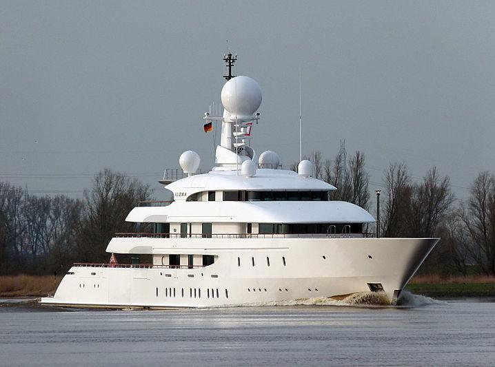 Ilona yacht by Amels in Lemwerder