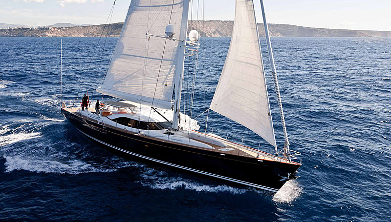 ALCANARA yacht S.E. Ward & Co