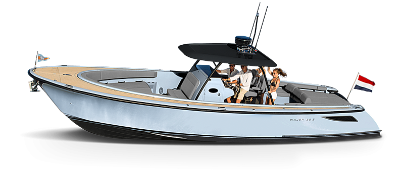 WAJER 38 S tender Wajer Yachts
