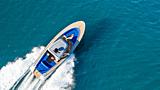 Wajer 38 S tender cruising