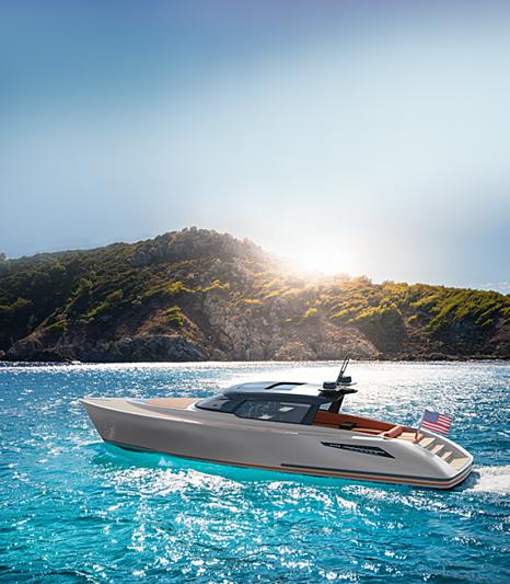 WAJER 55 HT tender Wajer Yachts