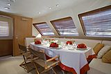 Althea yacht dining table
