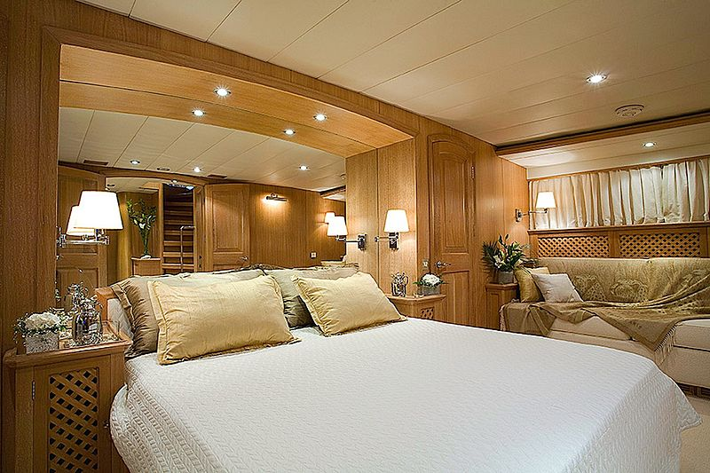 Althea yacht stateroom