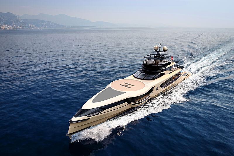 Dynamiq GTT 160 yacht project
