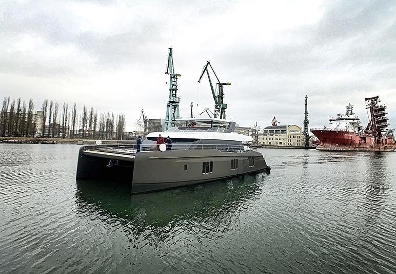 Otoctone 80 yacht launch