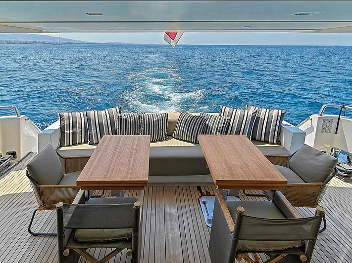 Casa yacht exterior