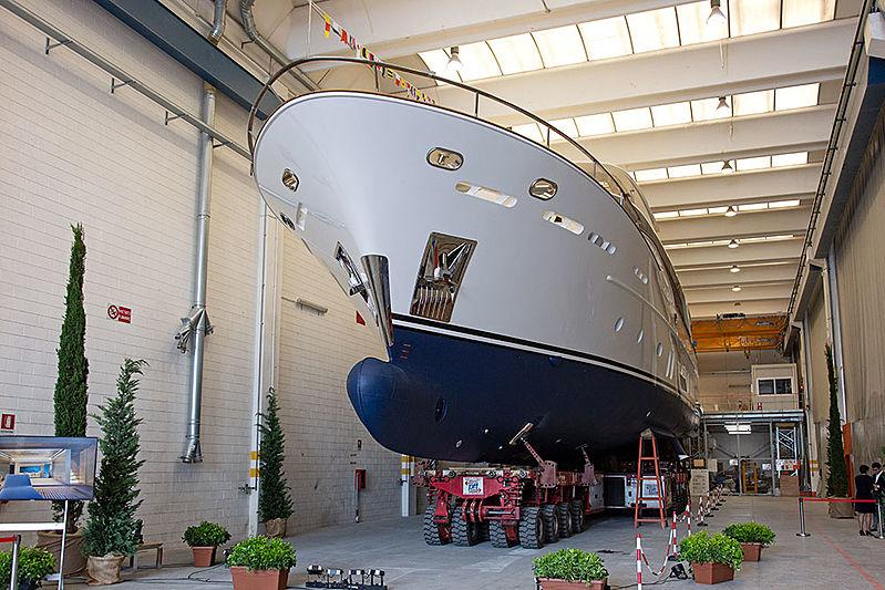 Vanadis yacht at CCN yard