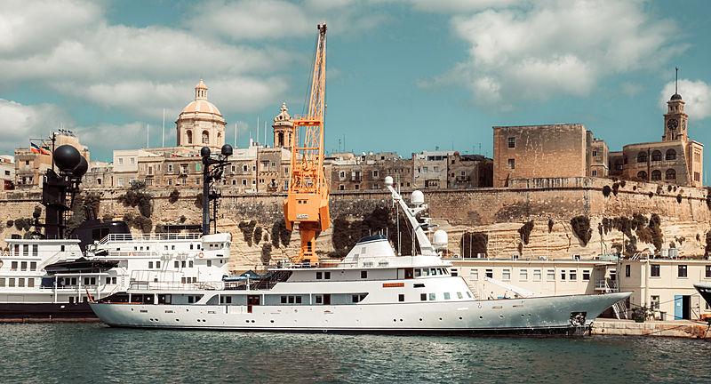 Paloma yacht in Malta