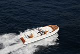 Castoldi Jet 23 tender cruising