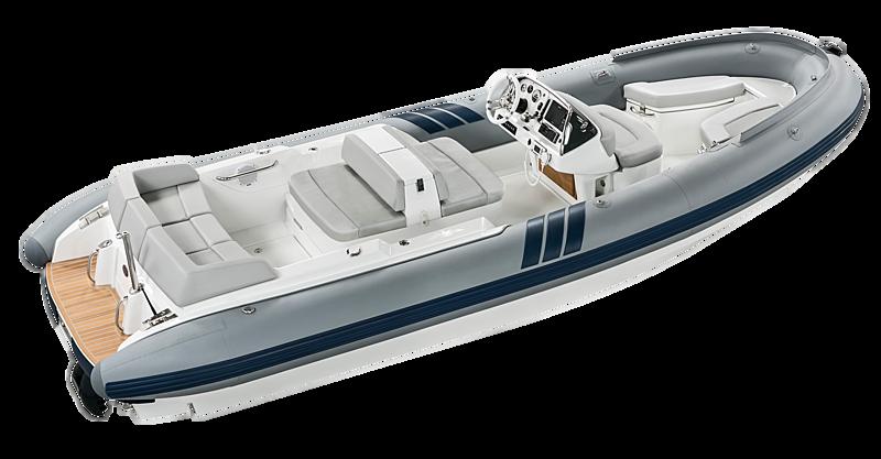 Castoldi Jet 19 tender exterior
