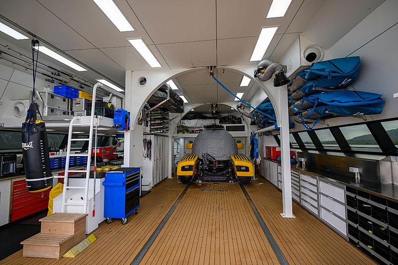 Umbra yacht tender garage