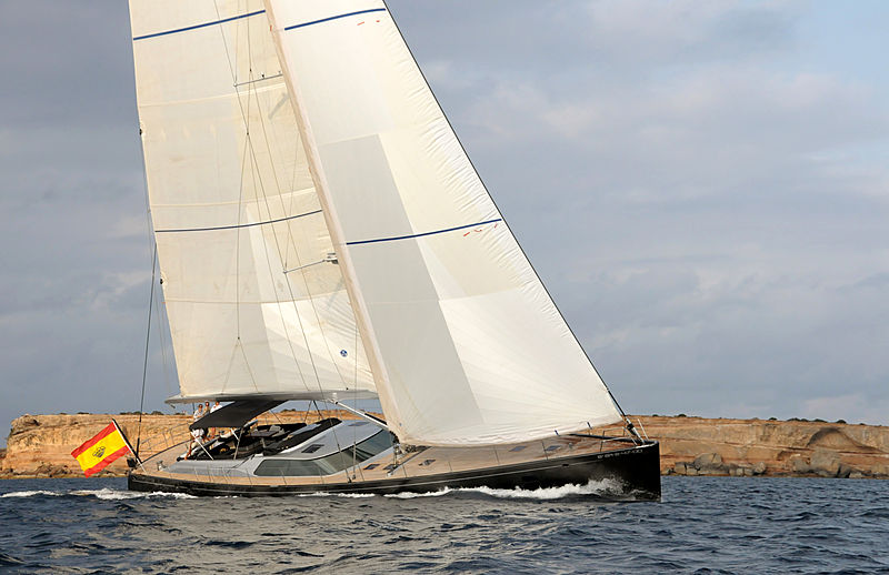 Concordia yacht cruising