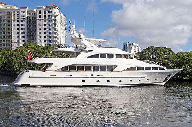 +Brava yacht exterior