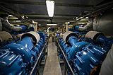 Umbra yacht engine room