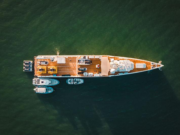 Umbra yacht aerial