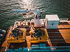 Umbra yacht aft deck