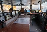 Umbra yacht wheelhouse