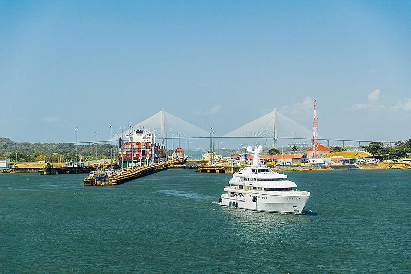Grace yacht by Abeking Rasmussen in Panama