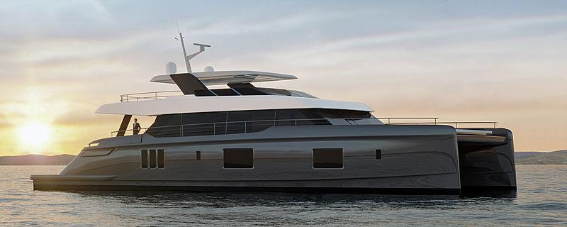 Sunreef 100 Power yacht exterior design