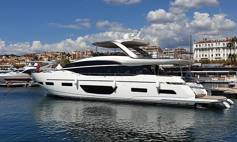 PRINCESS Y85/502 yacht Princess