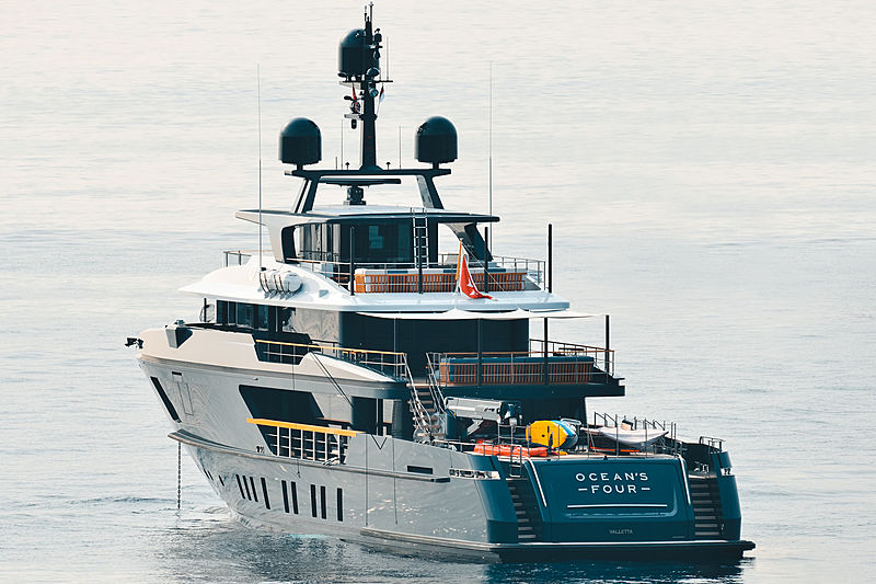 Ocean's Four yacht by Sanlorenzo in Monaco