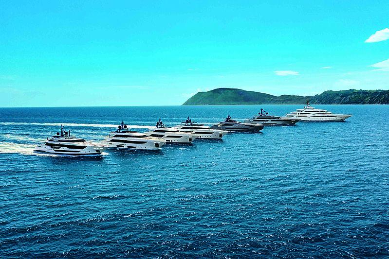 Ferretti Group -Fleet range