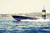 J Craft 42 Torpedo tender cruising
