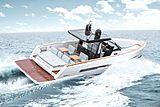 Fjord 44 Open  tender cruising