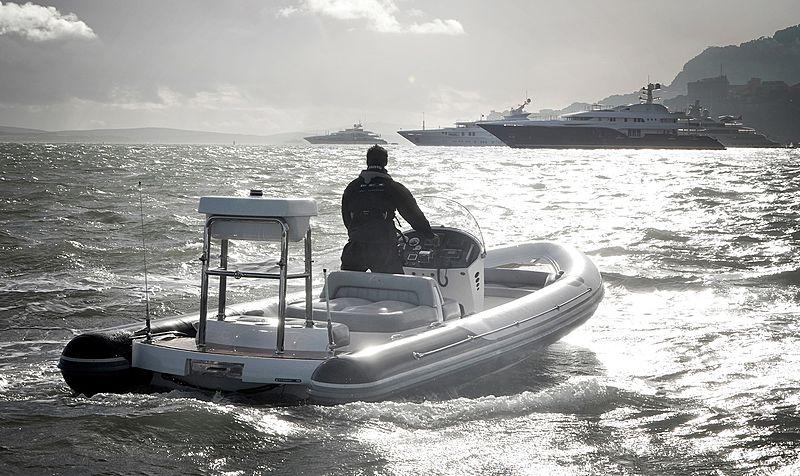 Pascoe SOLAS 7.00M tender cruising