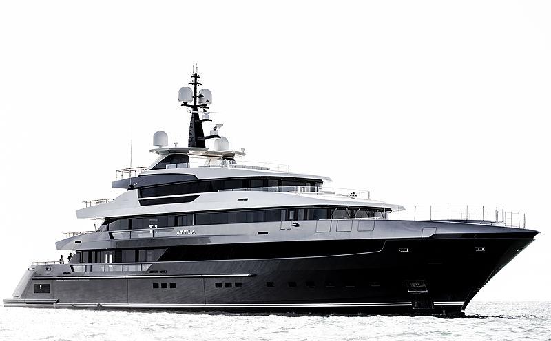 ATTILA yacht Sanlorenzo